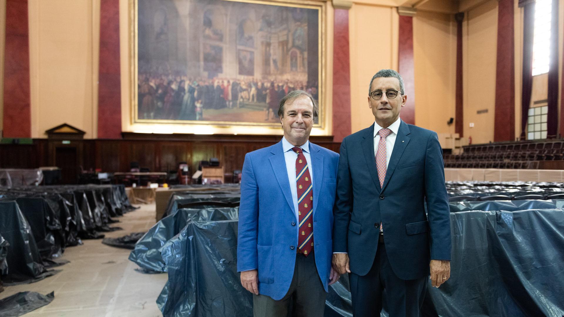 El vicedecano Marcelo Gerbhardt y Federico Carenzo coordinan el proyecto