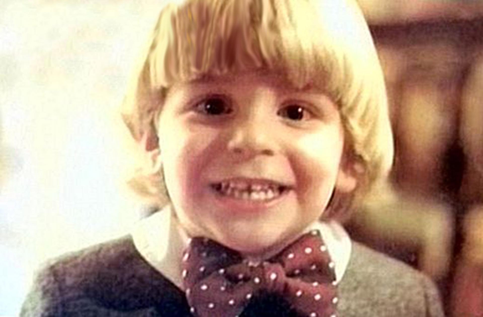 Bradley Cooper de niño
