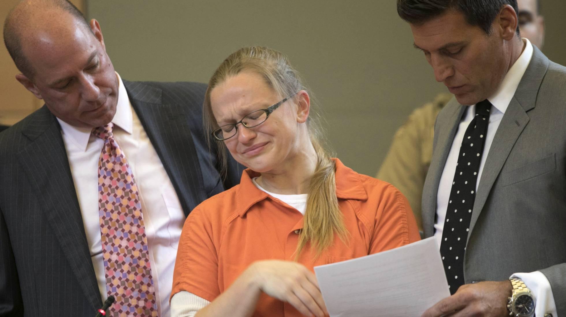 Angelika Graswald hizo un acuerdo con la fiscalía para declararse culpable de homicidio involuntario en lugar de ir a juicio por homicidio intencional (Allyse Pulliam/AP)