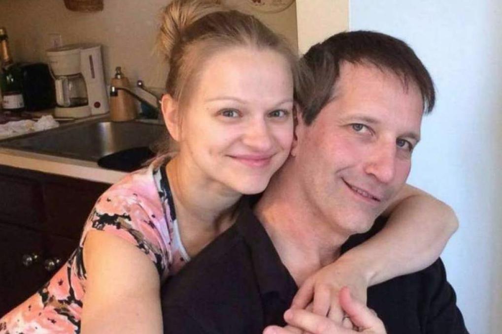 Angelika Graswald y Vincent Viafore estaban comprometidos para casarse cuando él murió