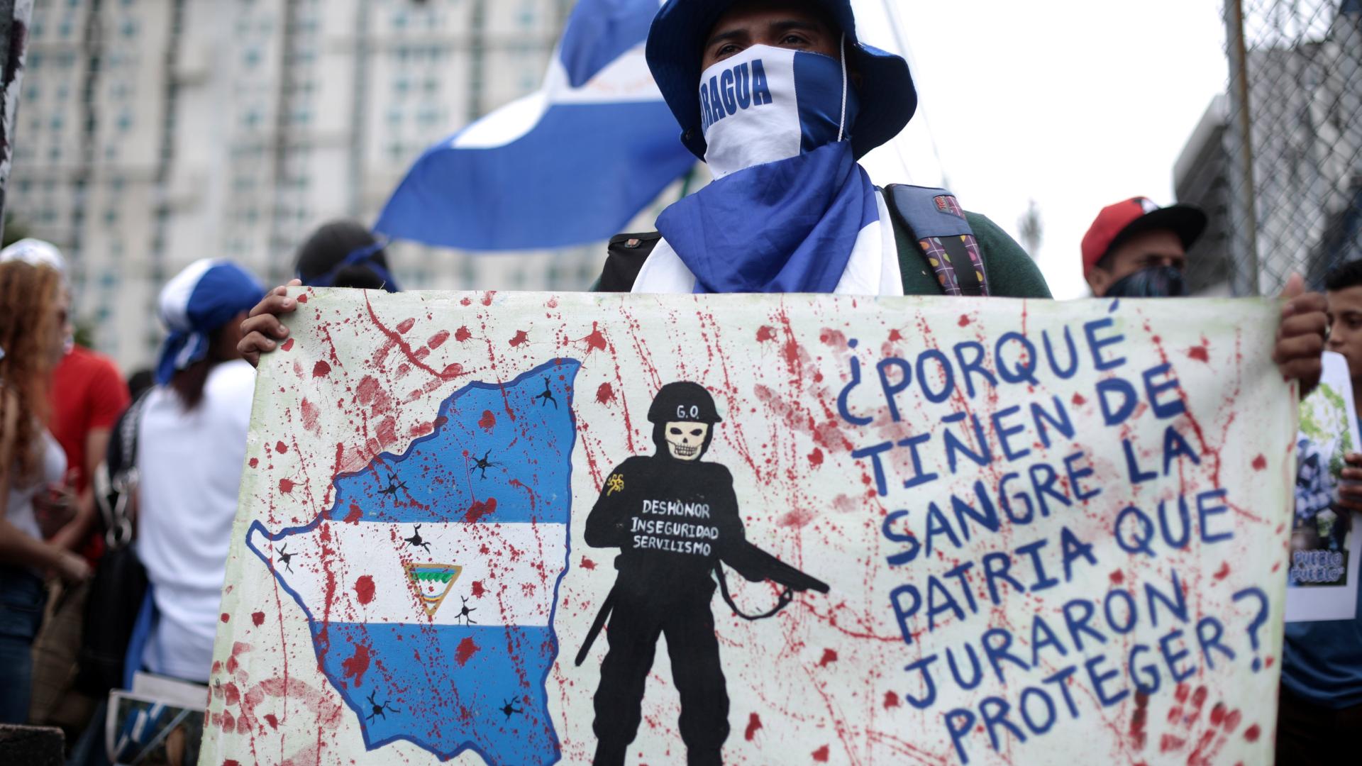 El régimen de los Ortega ha reprimido violentamente al pueblo nicaragüense. (Reuters)
