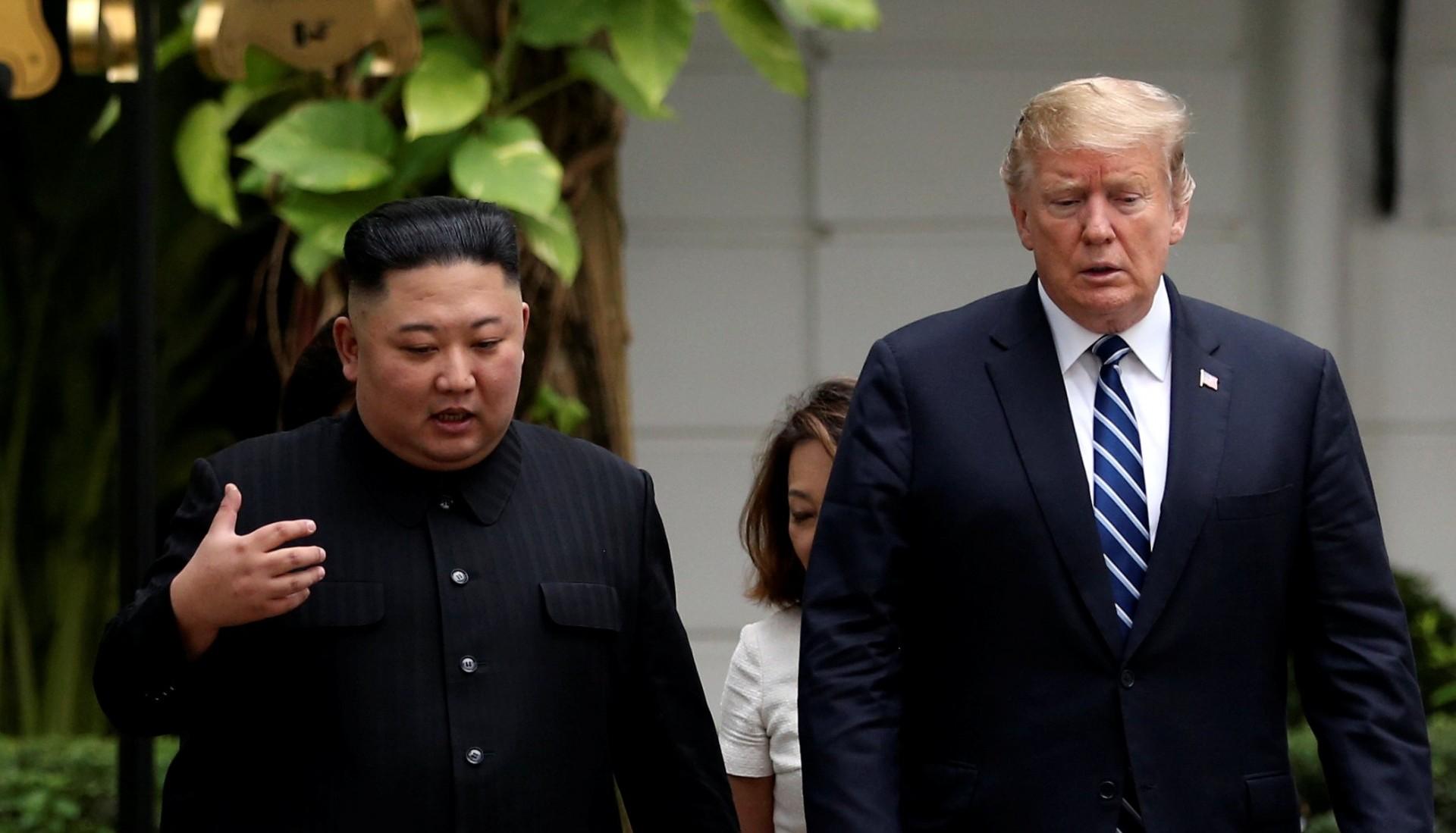La última cumbre entre Kim Jong-un y Donald Trump en Vietnam (Reuters)