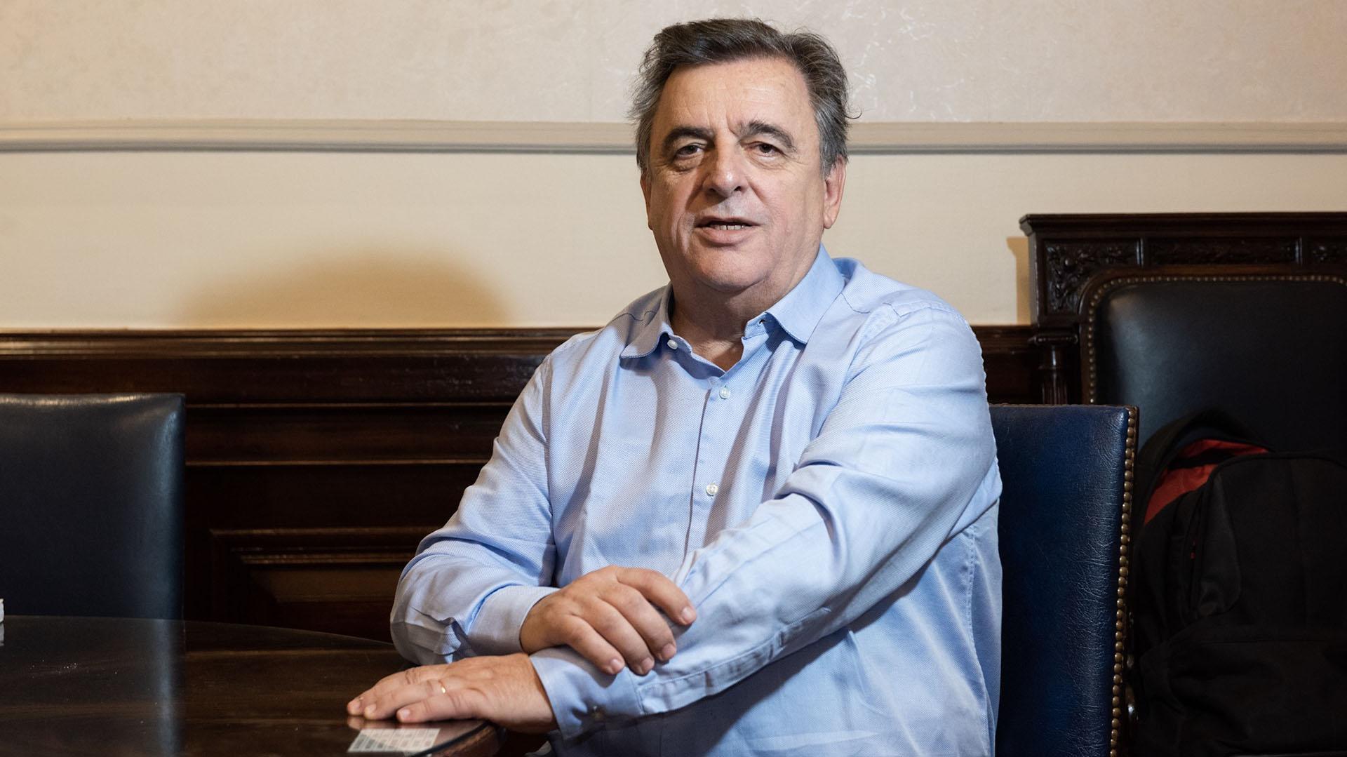 Mario Negri, presidente del bloque Cambiemos en la Cámara de Diputados, va por Córdoba Cambia. (Adrián Escandar)