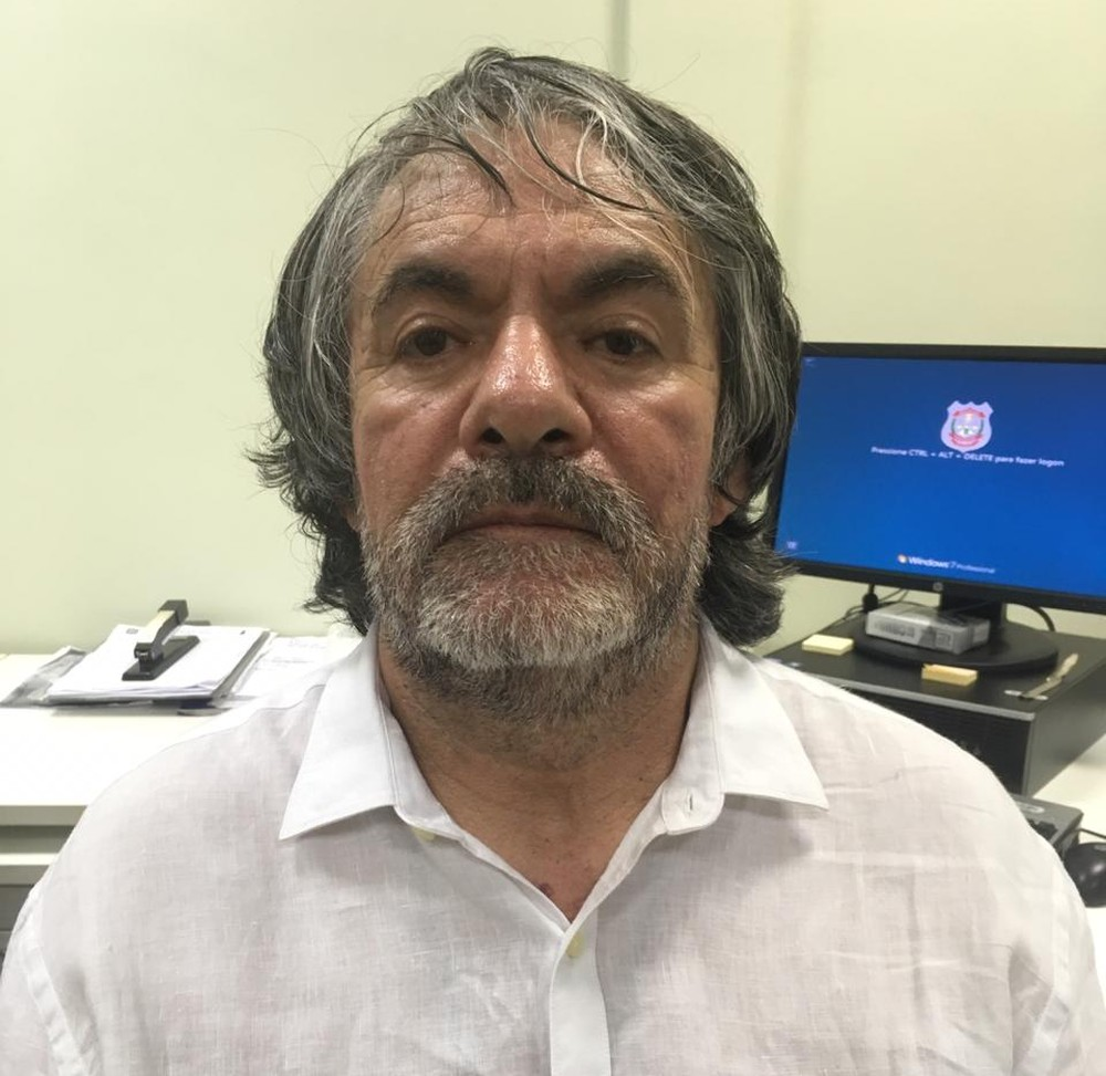 Lucio Rueda Bustos, detenido Brasil. (Foto: Policía Federal)