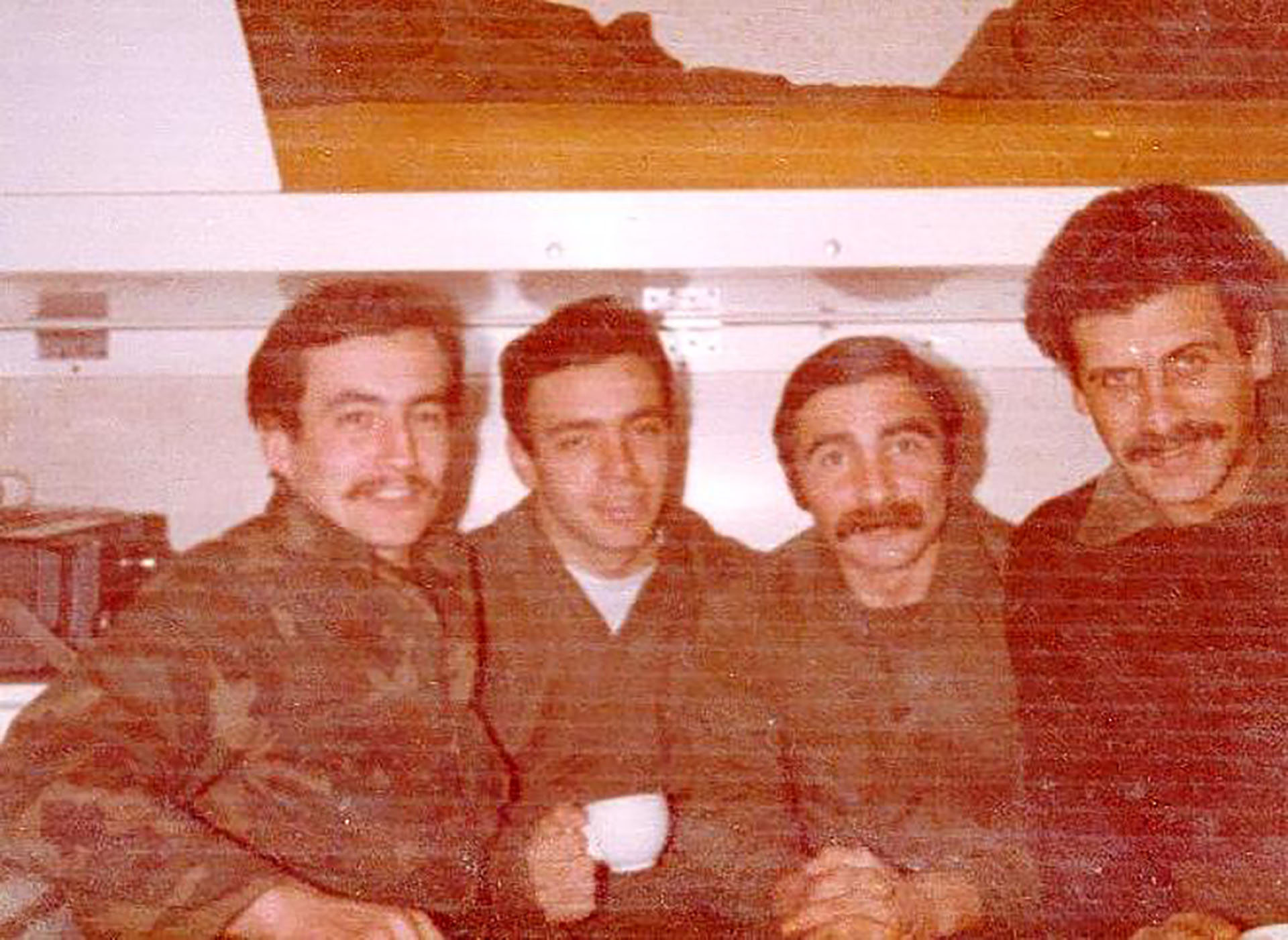 De regresoa casa: en el barco que los trajo hasta Madryn, el 15 de julio de 1982