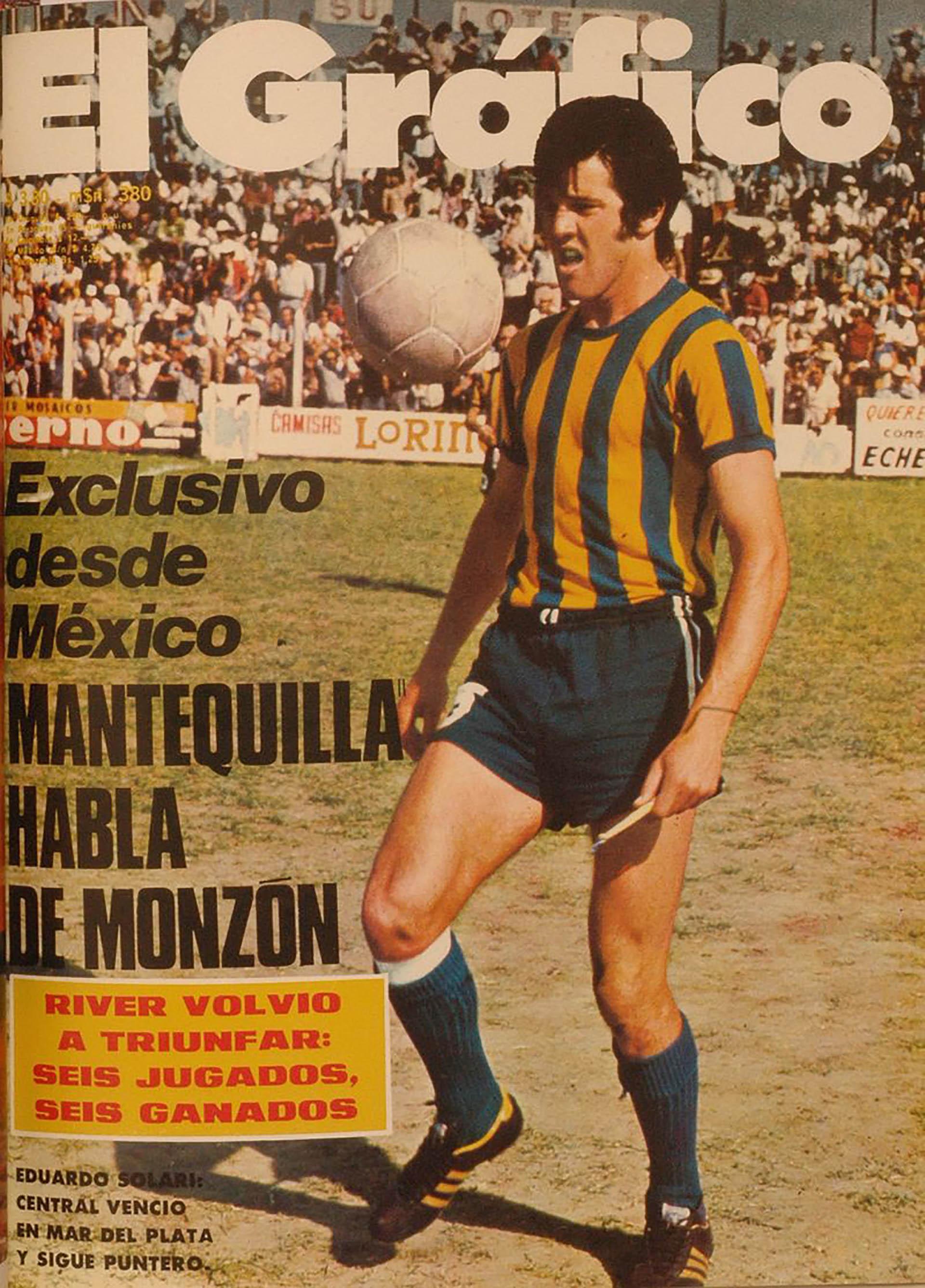 Eduardo Solari, padre de Santiago, se inició futbolísticamente en Rosario Central