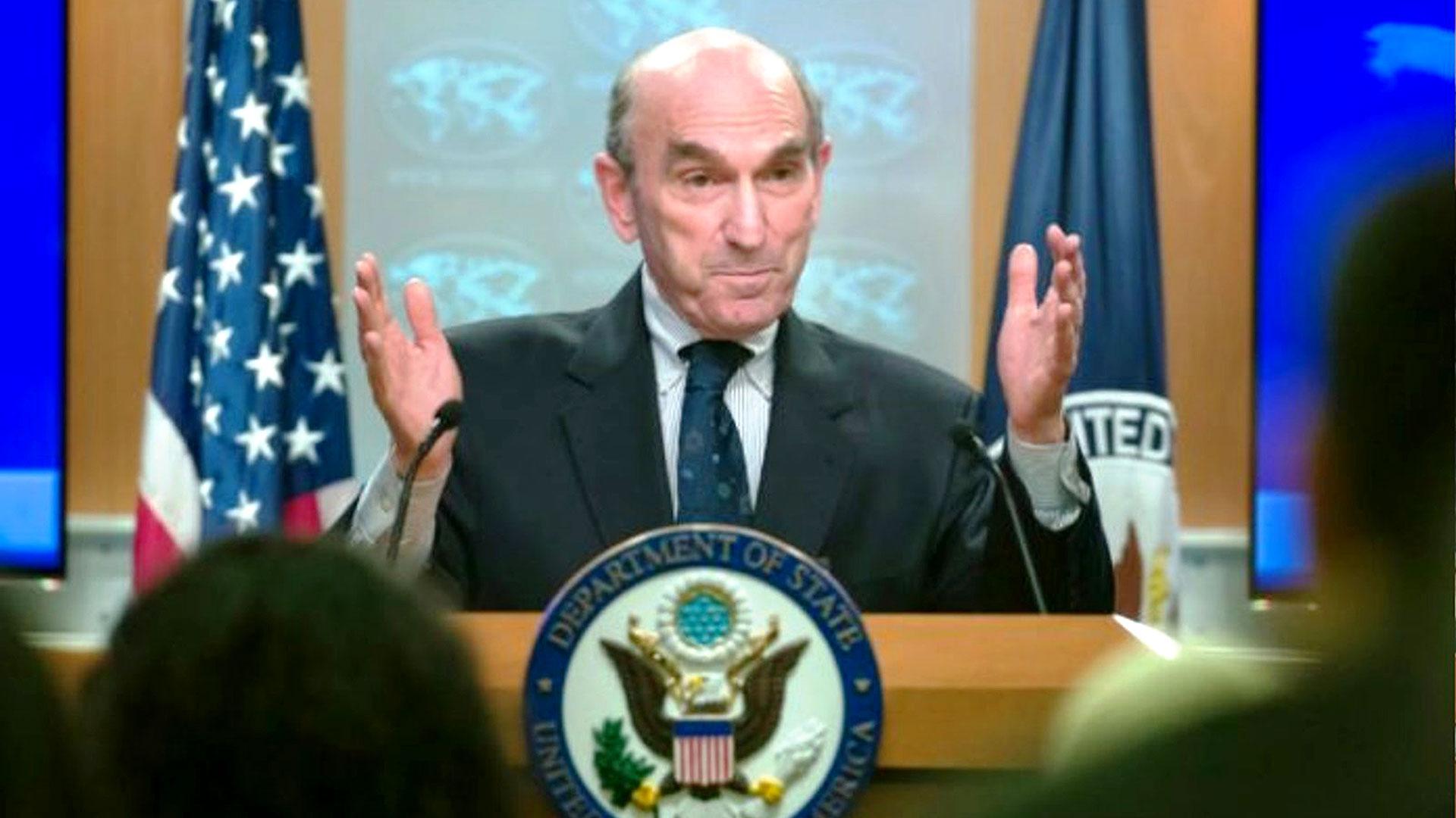 El enviado especial para Venezuela, Elliott Abrams (AP)