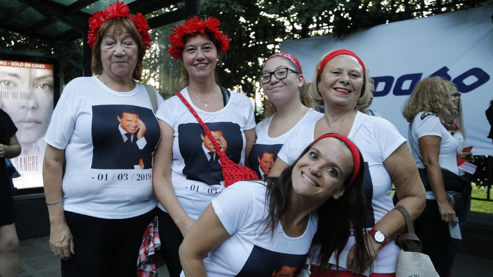 Solo durante esta gira, ya son más de un millón los espectadores que vieron al cantante (Fotos: Nicolás Aboaf / Teleshow)