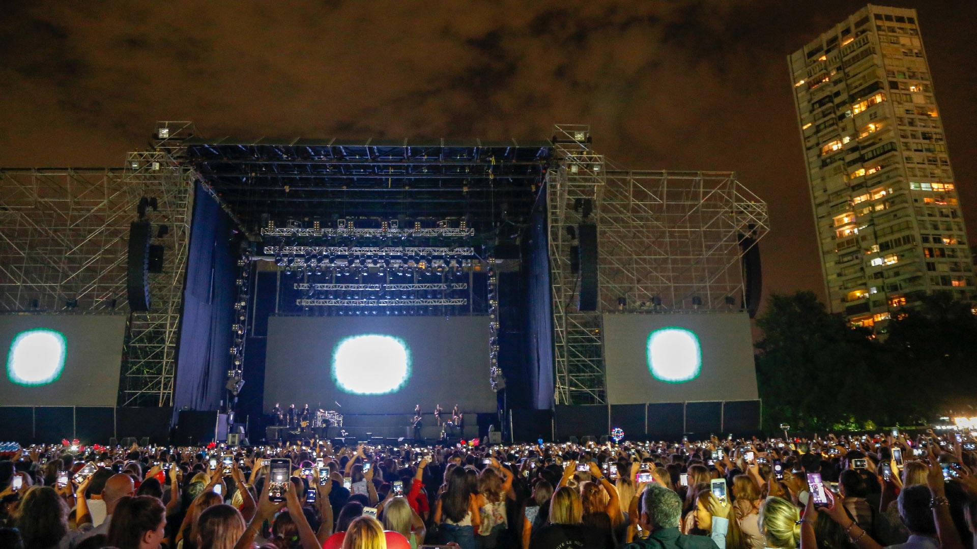 Más de 40 mil fanáticos colmaron el Campo Argentino de Polo para seguir de cerca a su ídolo