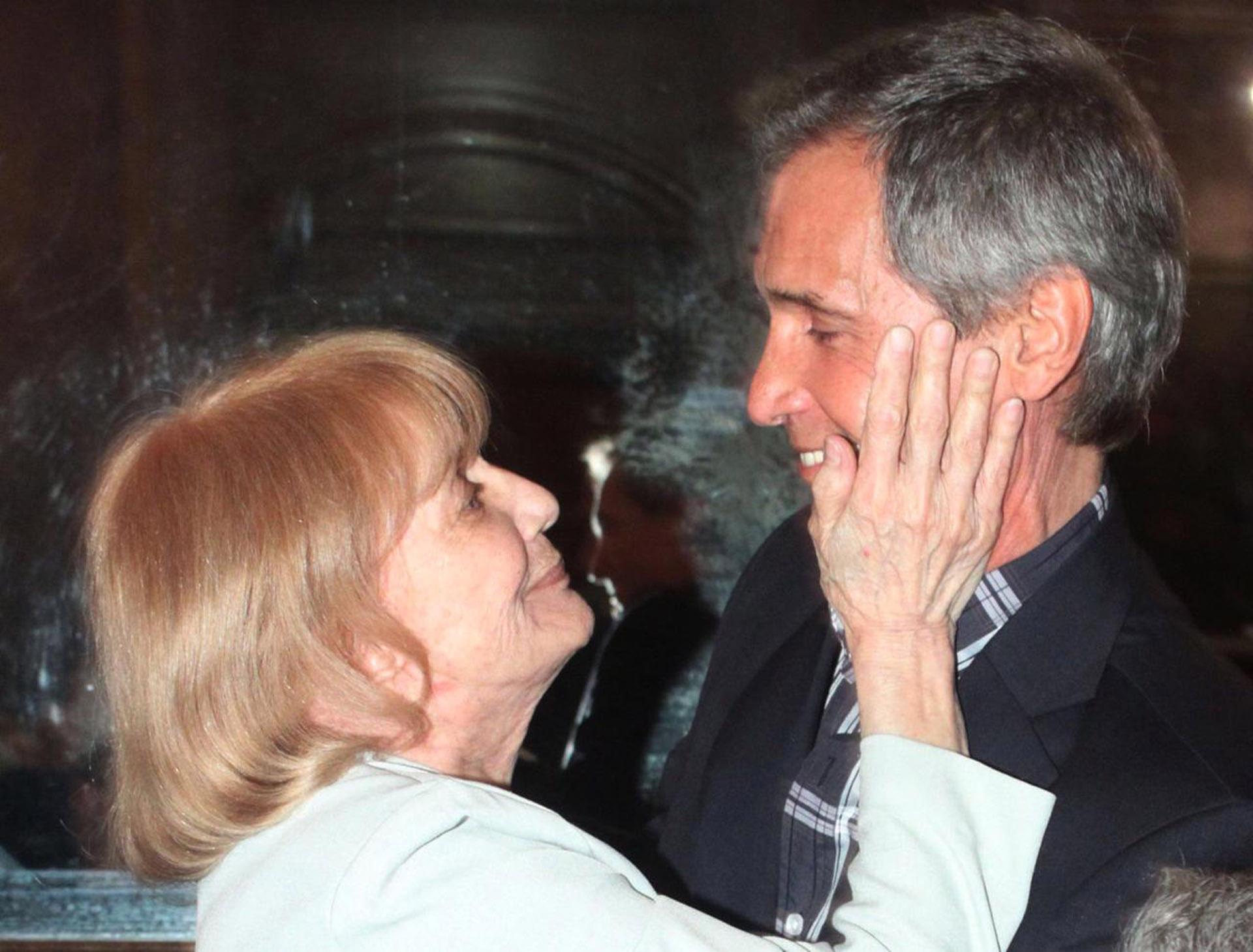 Beatriz y Raúl Taibo (Foto: Verónica Guerman)
