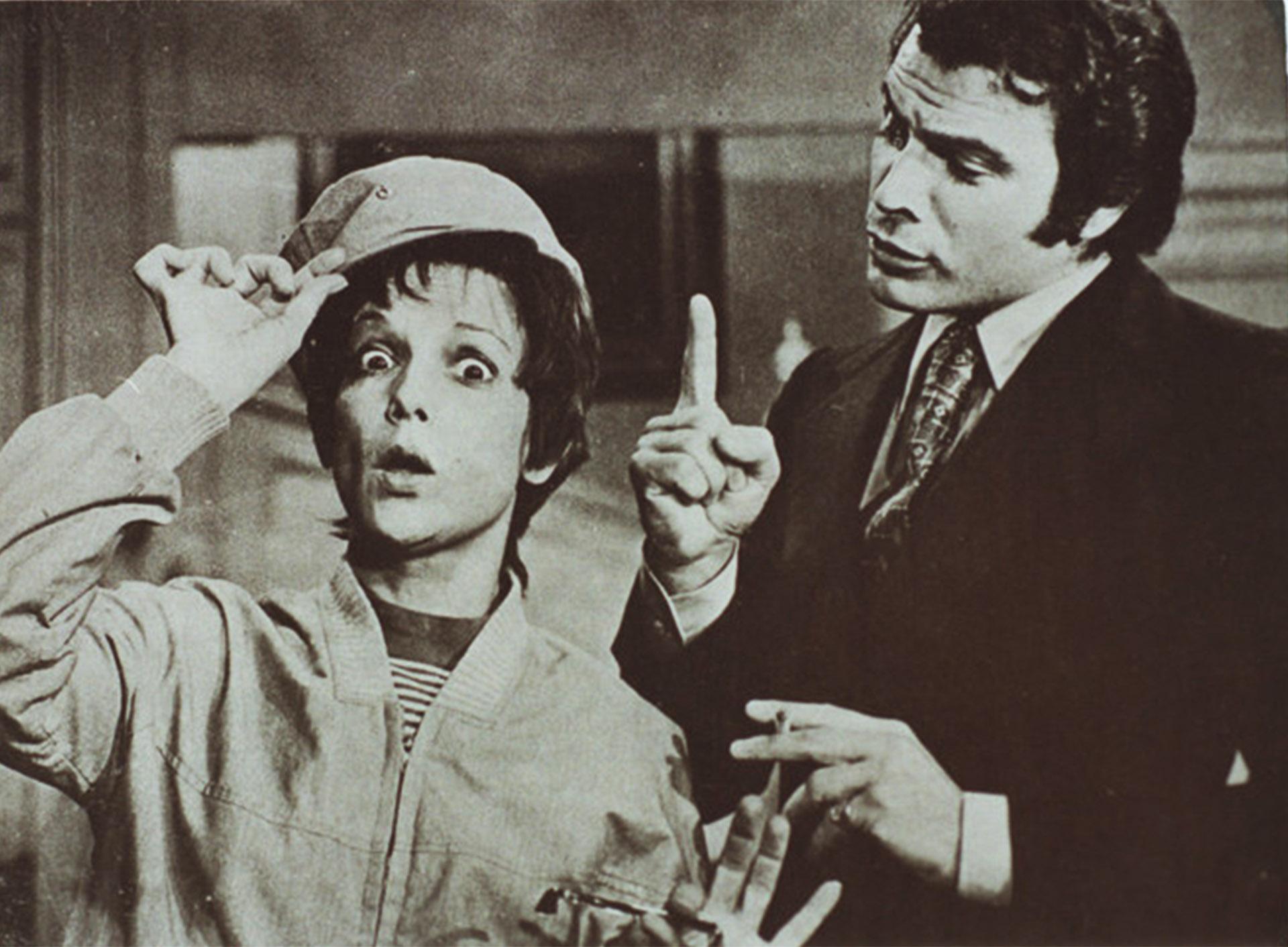 """Beatriz Taibo y Alberto Martin en """"Me llaman gorrión"""""""