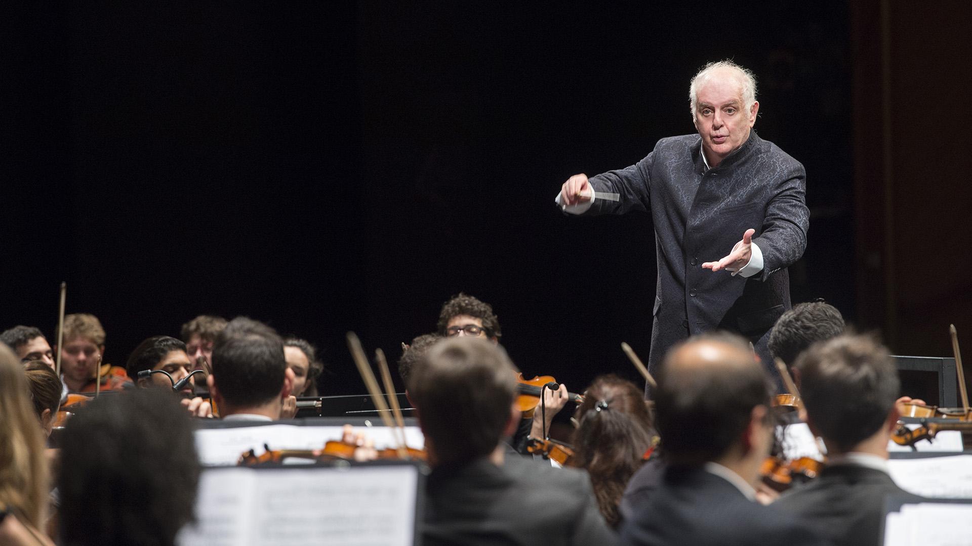 El Maestro Daniel Barenboim