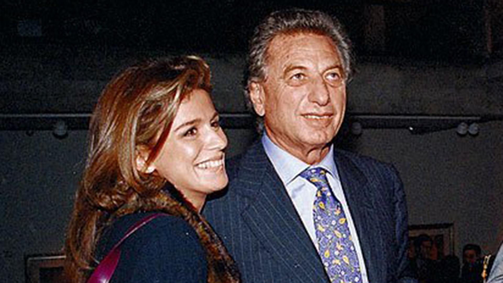 De todas las parejas de Franco, Flavia Palmiero fue la única verdaderamente popular, o famosa. Sus edades eran casi simétricas: cuando se conocieron él tenía 68 y ella 32, es decir, poco más que el doble (CEDOC)