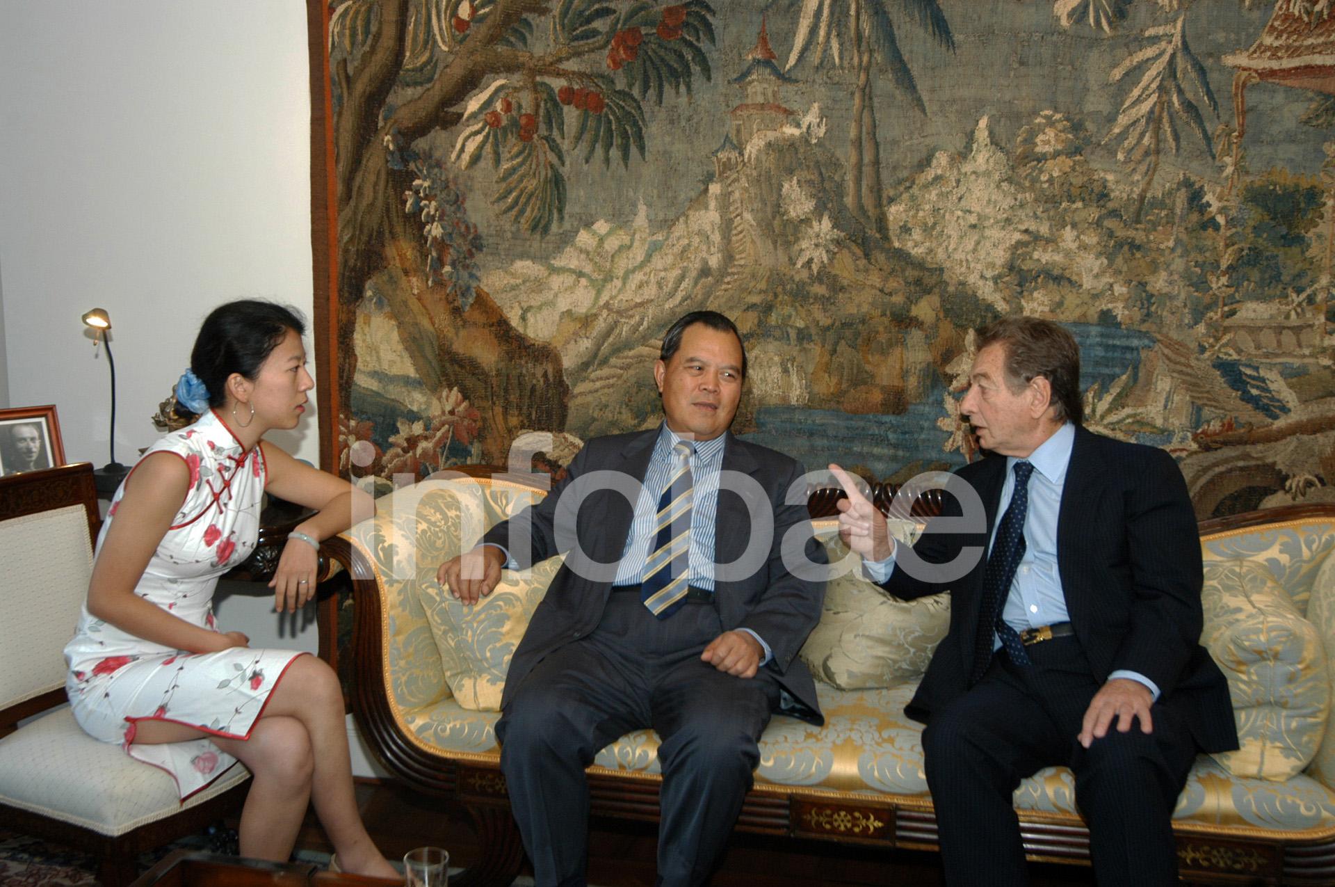 A lo largo de la última década, Franco Macri reforzó los vínculos con empresarios chinos de diferentes ámbitos (Enrique García Medina)