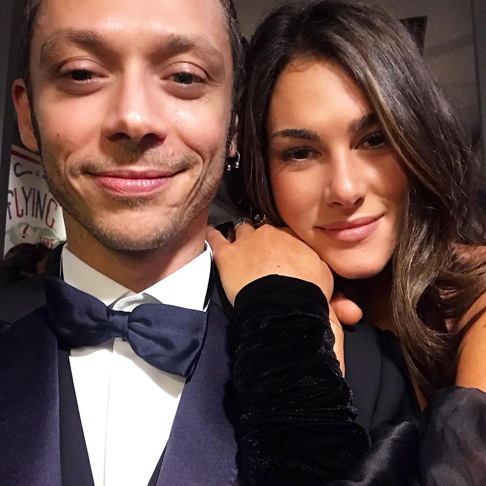 Valentino Rossi, junto a su pareja Francesca Sofia Novello (@francescasofianovello)