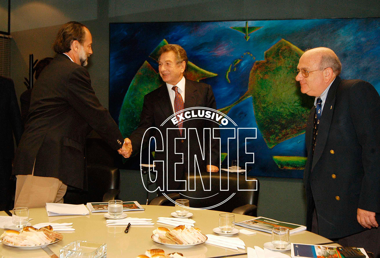 Franco Macri era un duro yhábil hombre de negocios. Foto: Enrique García Medina/GENTE