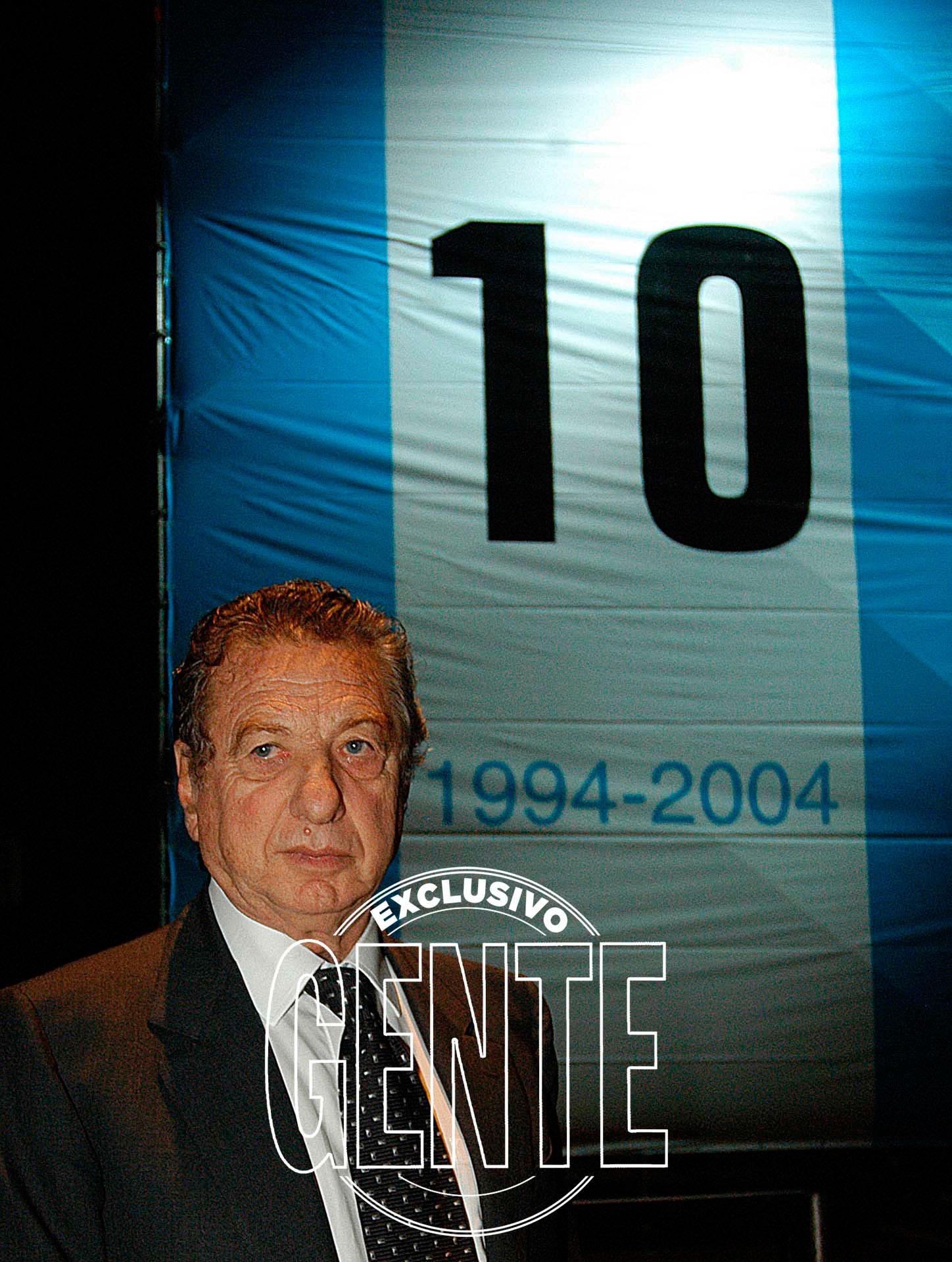 Franco Macri, el padre del presidente de la Nación. Foto: Enrique García Medina/GENTE