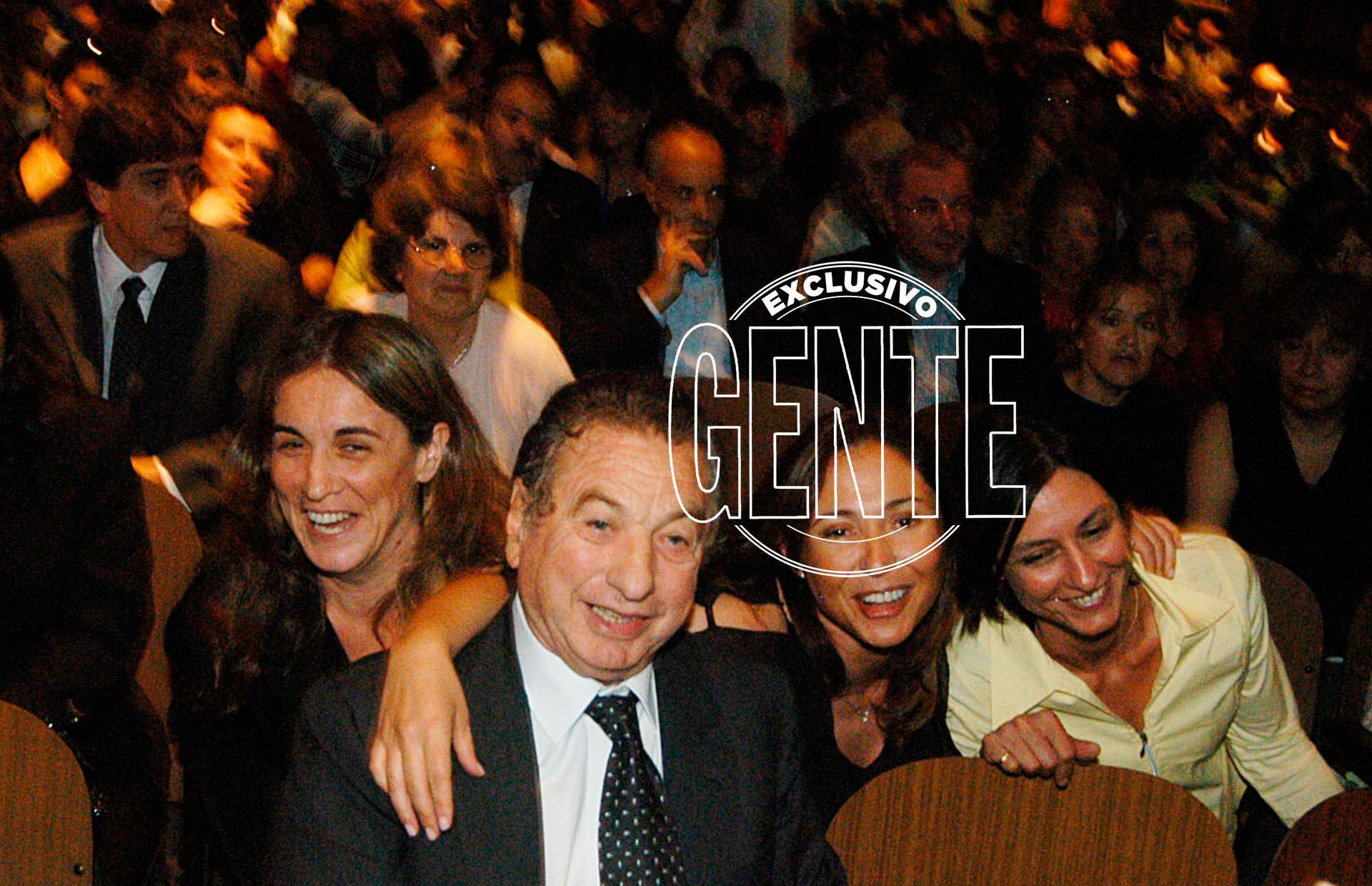 Franco Macri en una celebración de su firma Pago Fácil, en el Luna Park. Foto: Enrique García Medina/Revista GENTE
