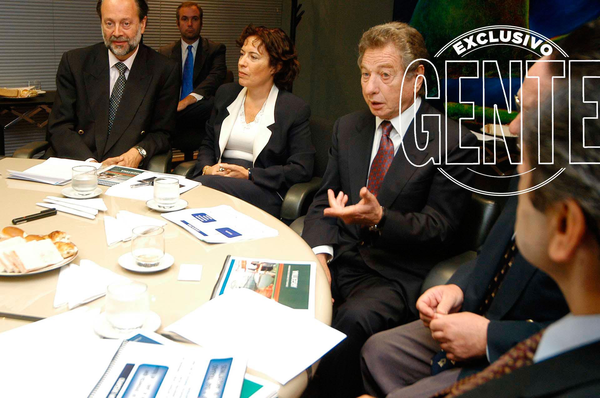 Franco Macri, en una reunión de SOCMA. Foto: Enrique García Medina/GENTE