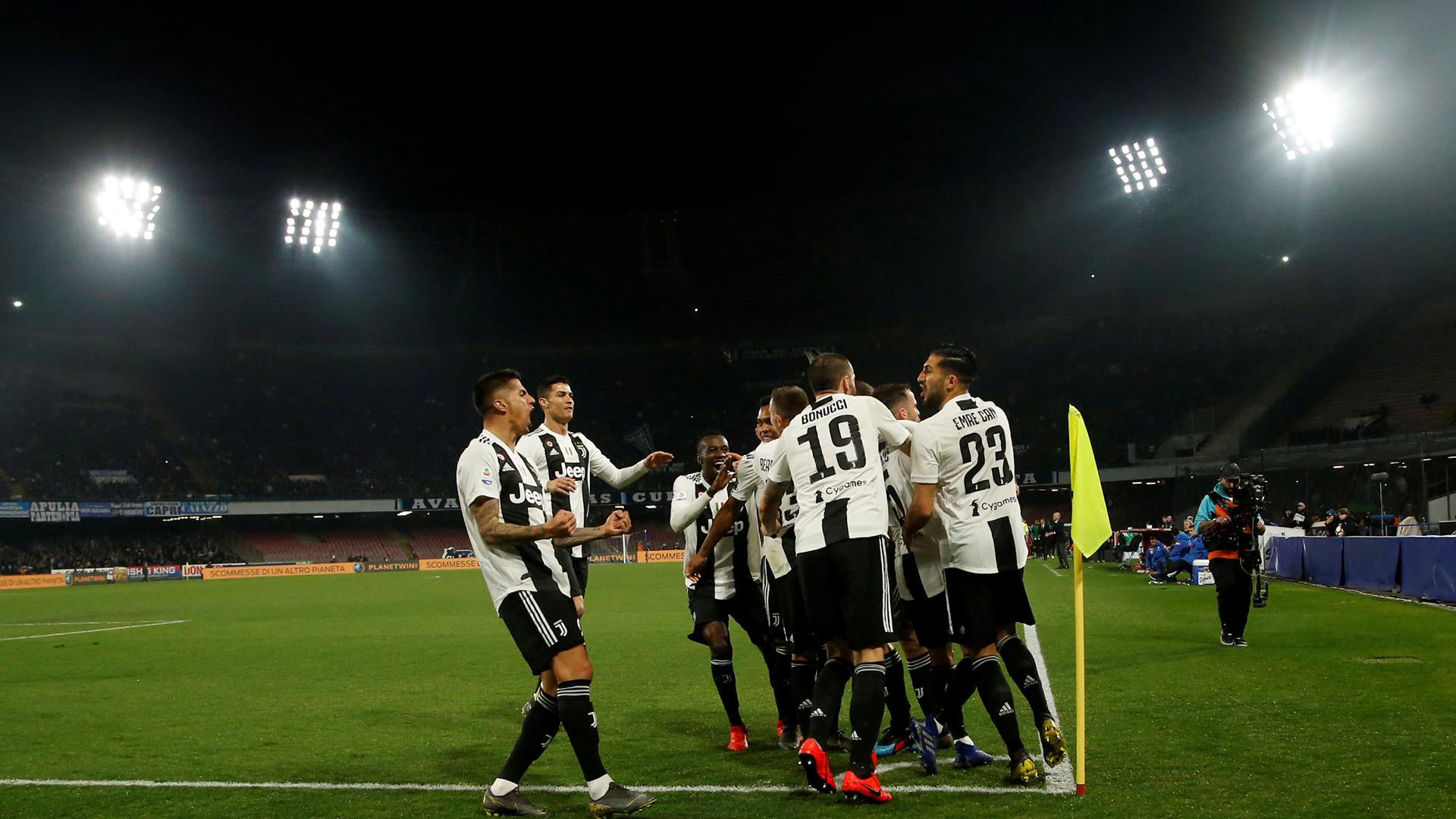 La Juventus y otro paso para dar camino al título de la Serie A (REUTERS/Ciro De Luca)