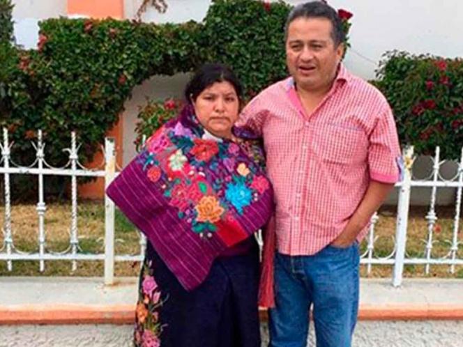 La Fiscalía General del Estado tuvo que intervenir para que las autoridades de su comunidad la liberaran. (Foto: Fiscalía de Chiapas)