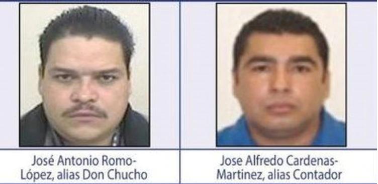 José Alfredo Cárdenas Martínez, 'El Contador', fue capturado por la Marina en Matamoros; junto con Antonio Romo López, 'Don Chucho', dirigía dicho cártel, de acuerdo con la DEA, pero quedó libre al poco tiempo (Foto: Archivo)