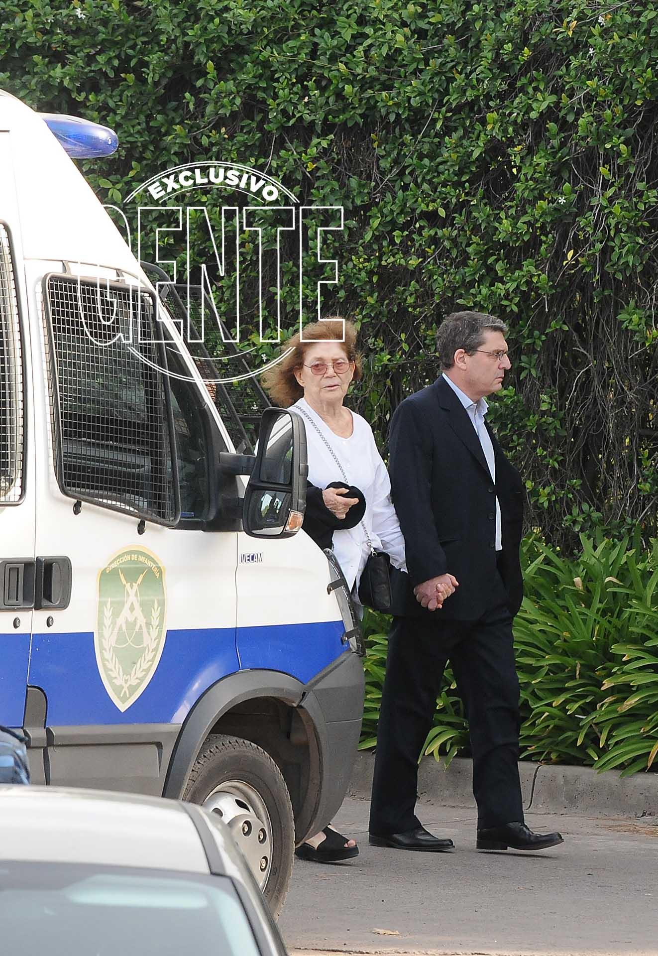 La despedida de Franco Macri. Foto: Julio César Ruiz/GENTE