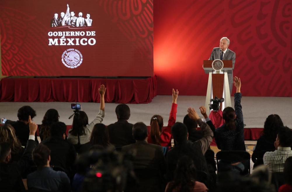 De acuerdo con una encuesta López Obrador tiene 78% de aprobación ciudadana (Foto: Cortesía Presidencia)