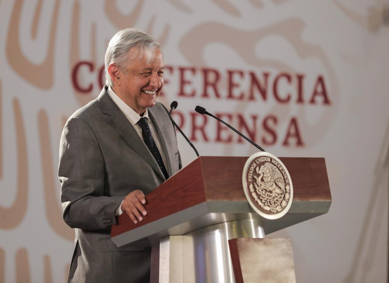 El presidente Andrés López Obrador cuenta hoy con el apoyo de 8 de cada 10 mexicanos(Foto: Cortesía Presidencia)