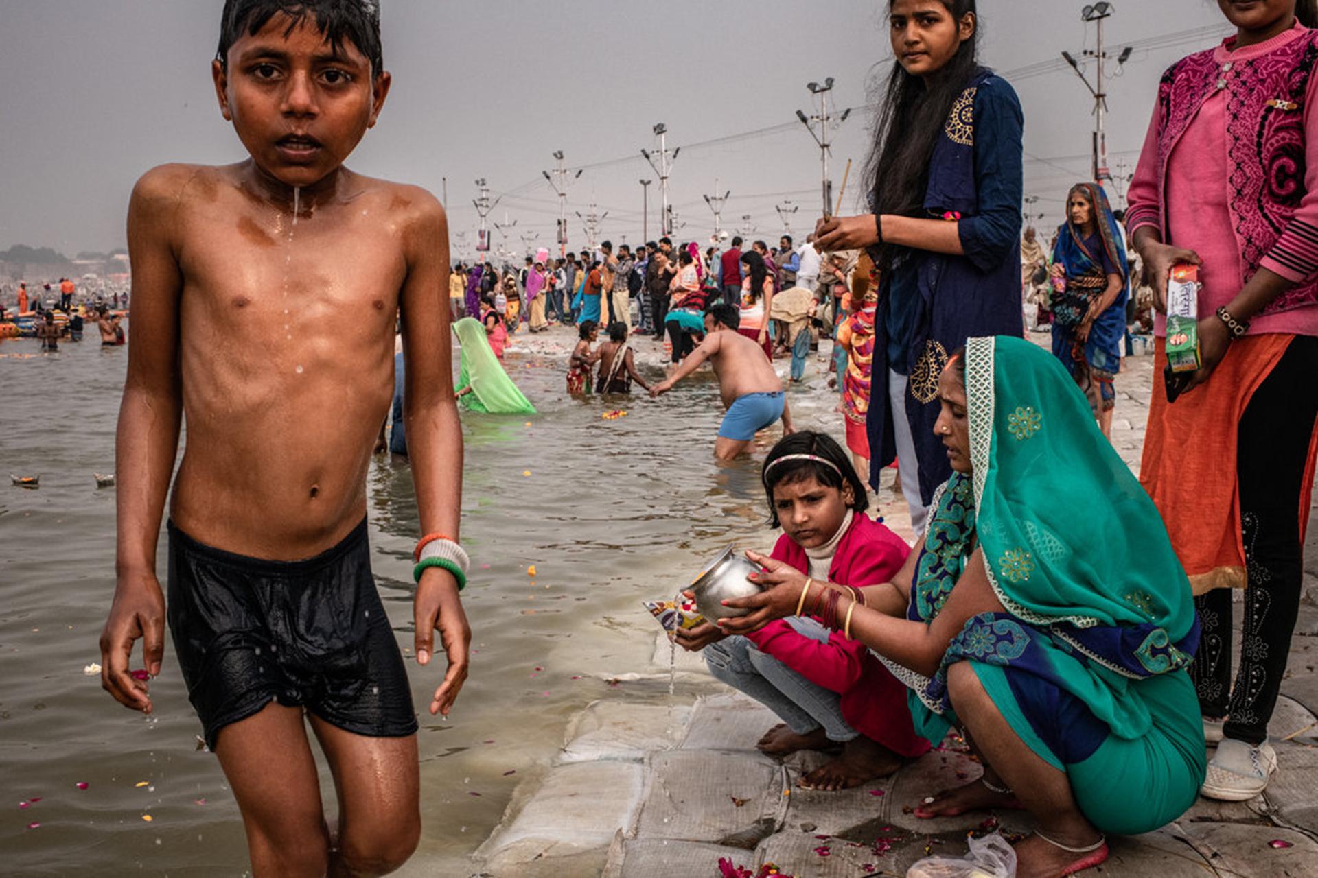 Este año se esperaba que 150 millones de personas asistieran al Kumbhamela, entre enero y marzo. (The New York Times)