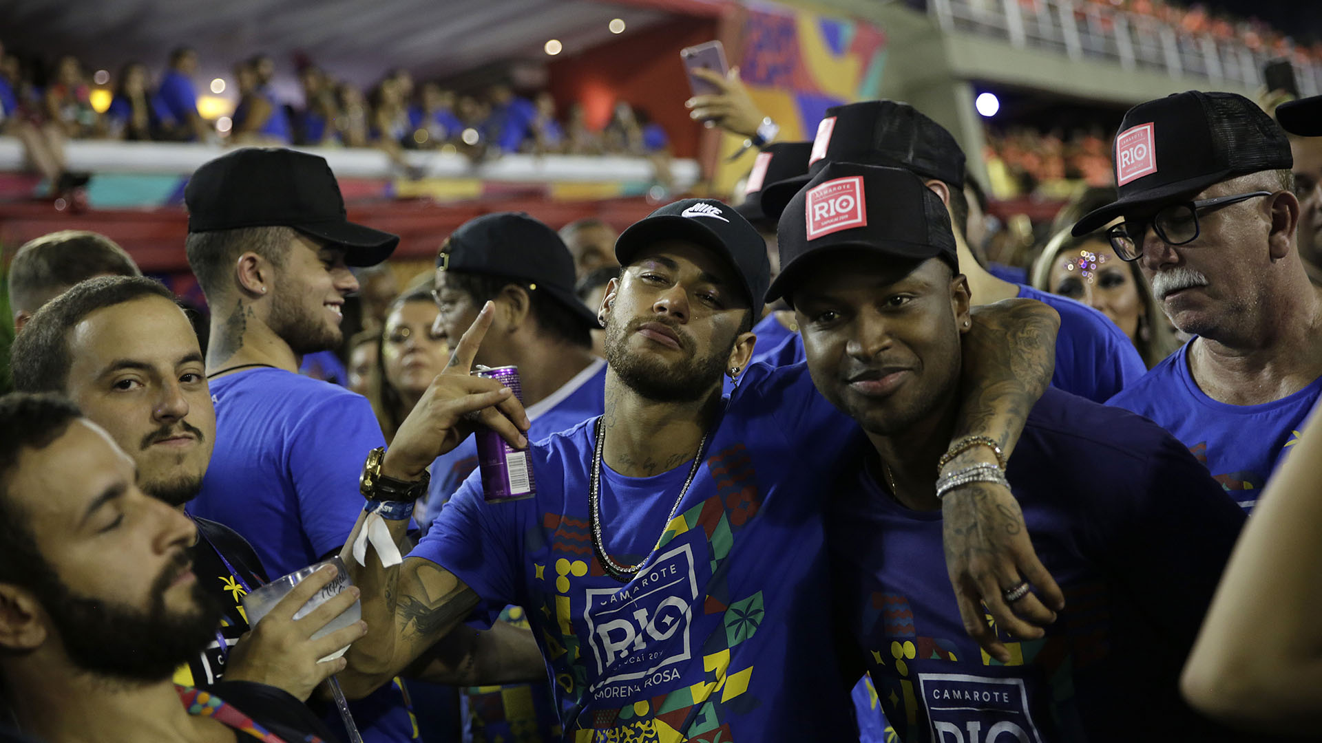 El capitán de la selección brasileña se recupera de una lesión (AP Photo/Silvia Izquierdo)