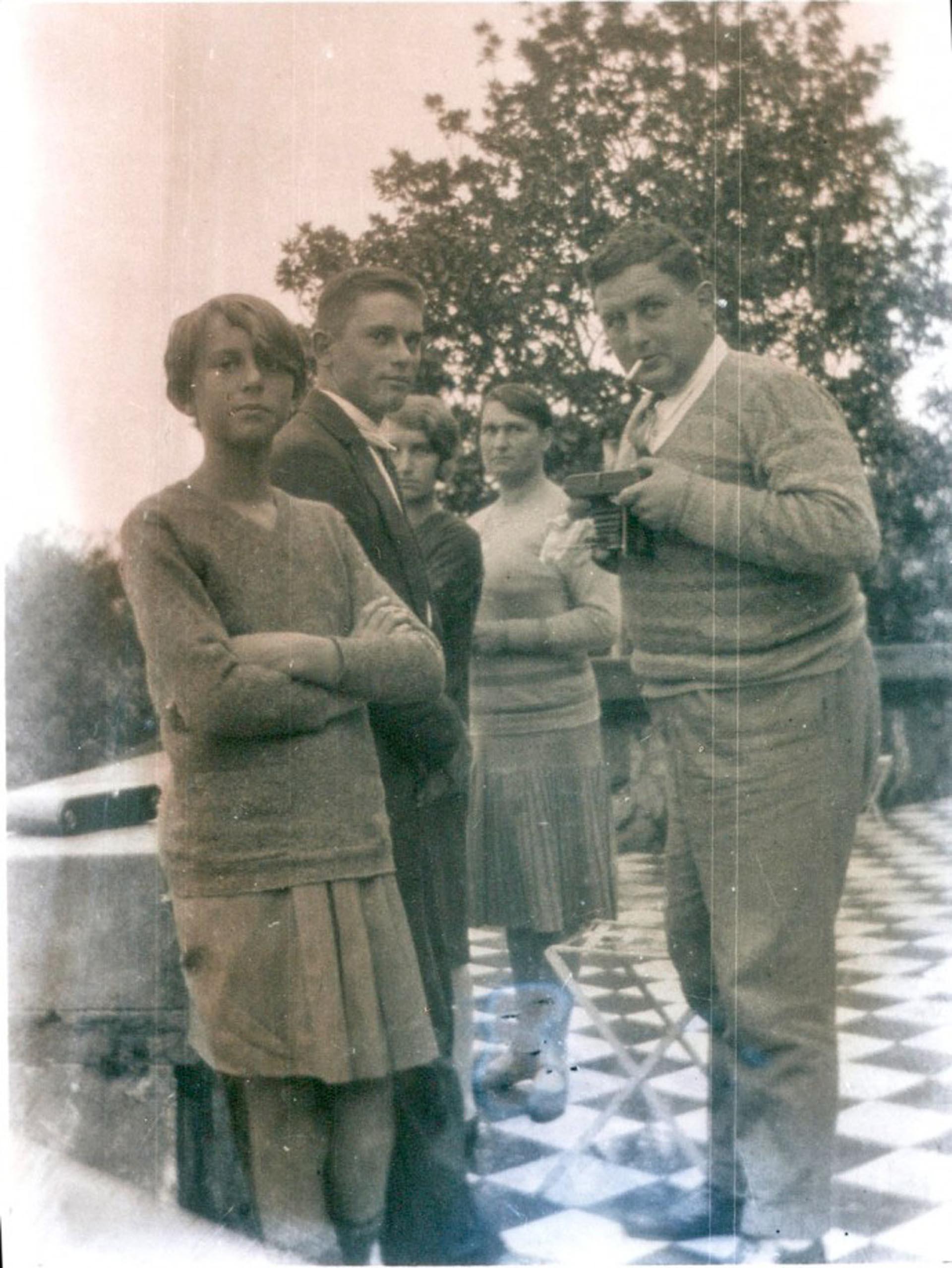 Familia Fuchs (Archivo de la familia Fuchs Vallon. Cortesía Nicolás Herzog)