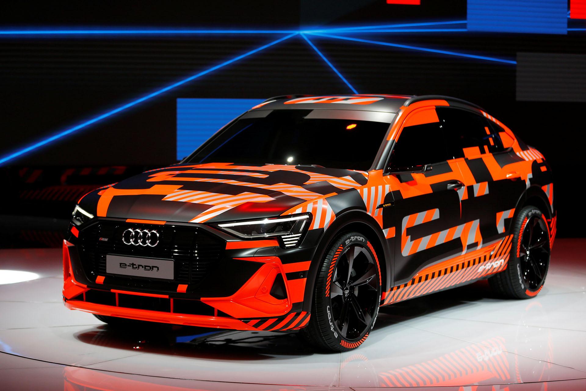 La versión coupé del nuevo Audi E-Tron Sportback llegará a fin de año.