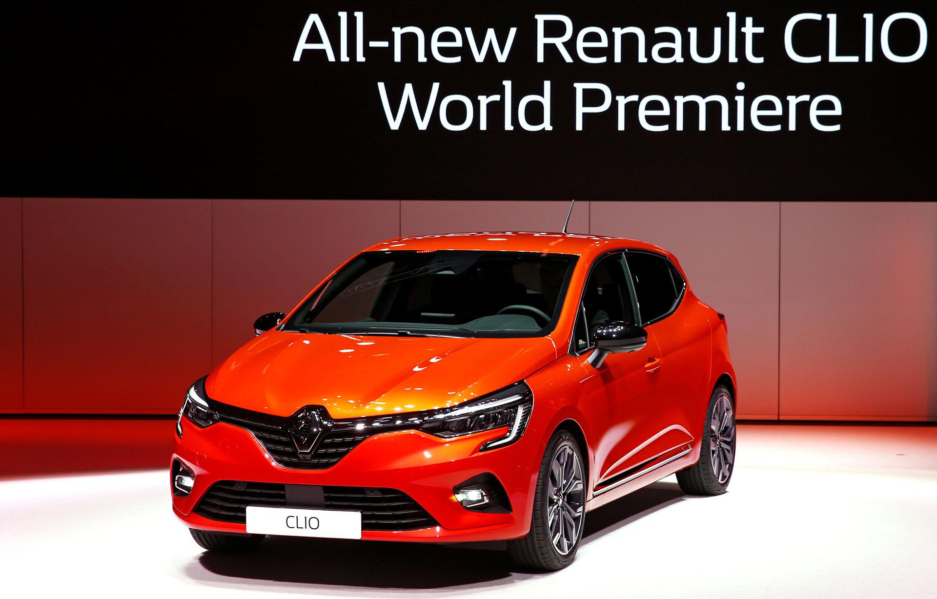 El nuevo Renault Clio fue presentado por el CEO de la compañía,Thierry Bollore