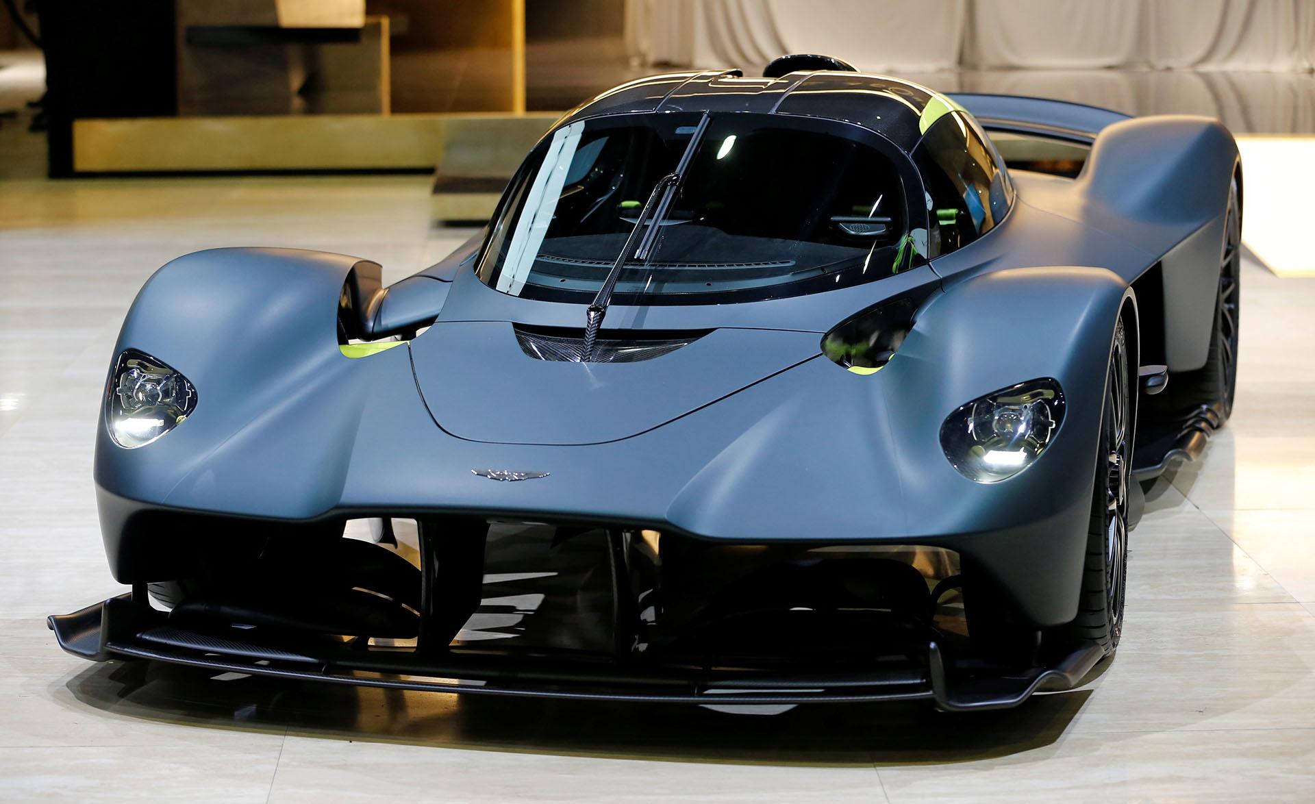 Fue presentado el Aston Martin Valkyrie, un hiperdeportivo del que sólo serán fabricados unas 150 unidades