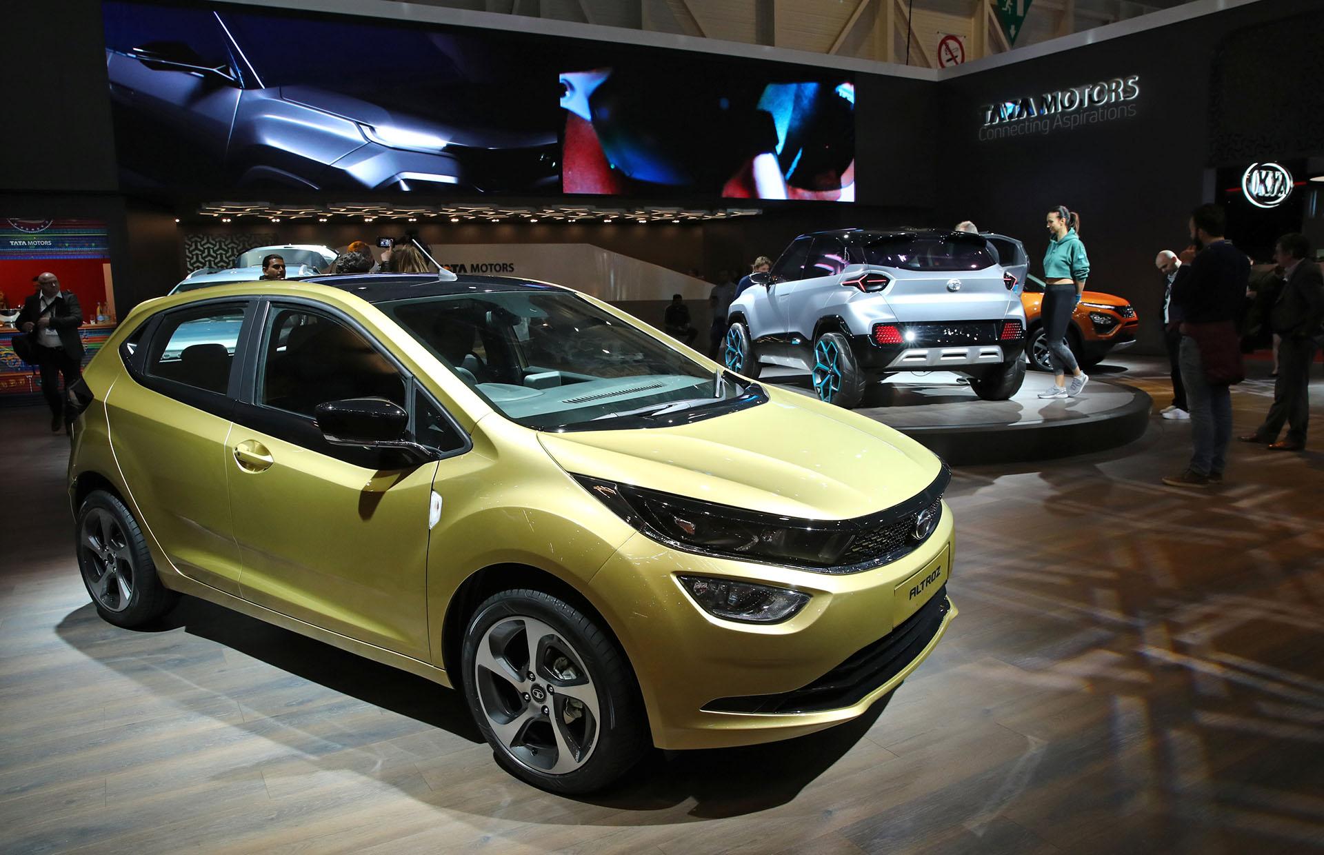 El Tata Motors Altrozes un hatchback que próximamente tendrá también su versión eléctrica