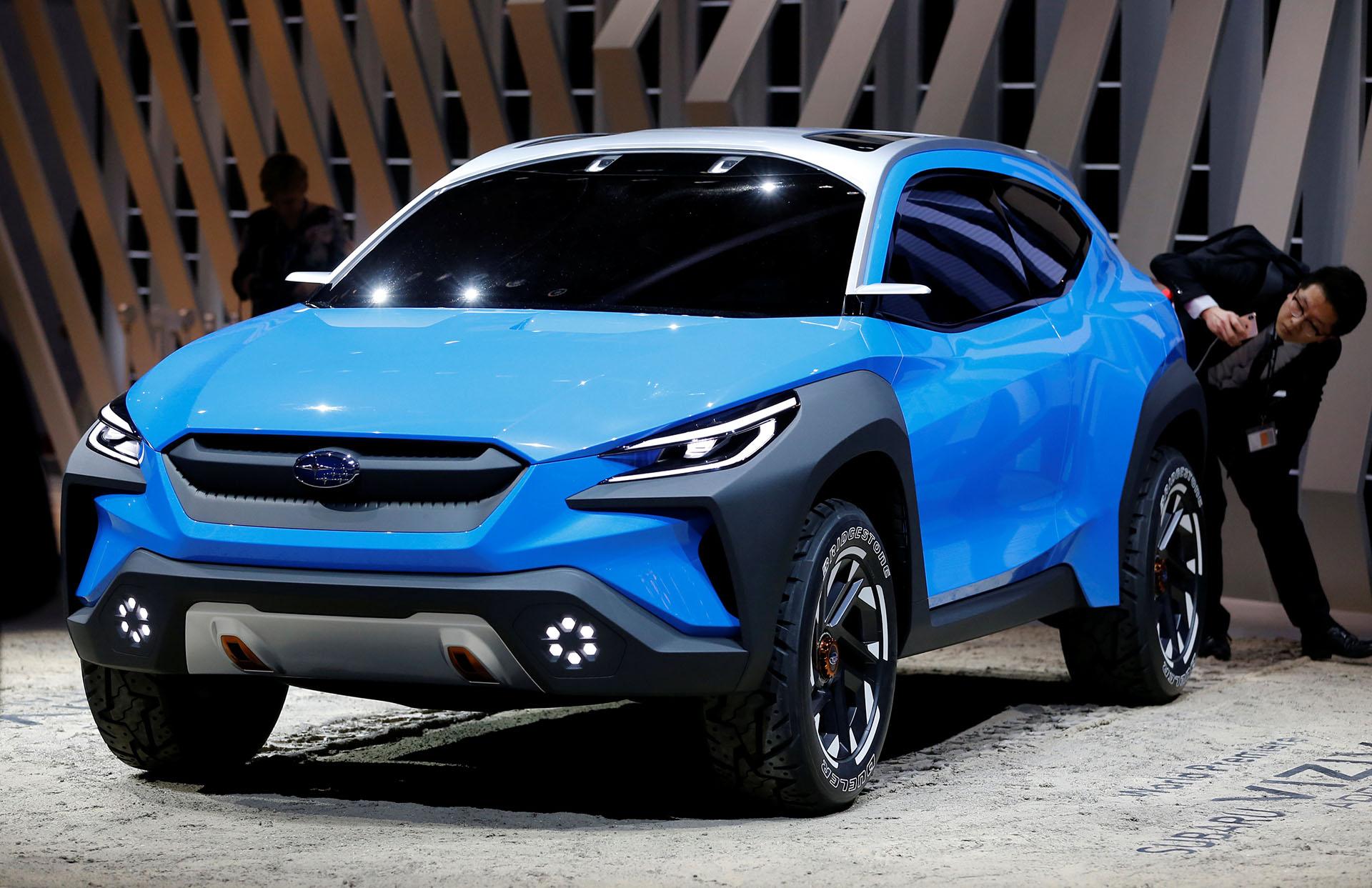 """LA Subaru Viziv Adrenaline Concept remite a""""Vision for Innovation"""":la firma japonesa aún no confirmó sieste SUV se transformará en un automóvil de producción"""