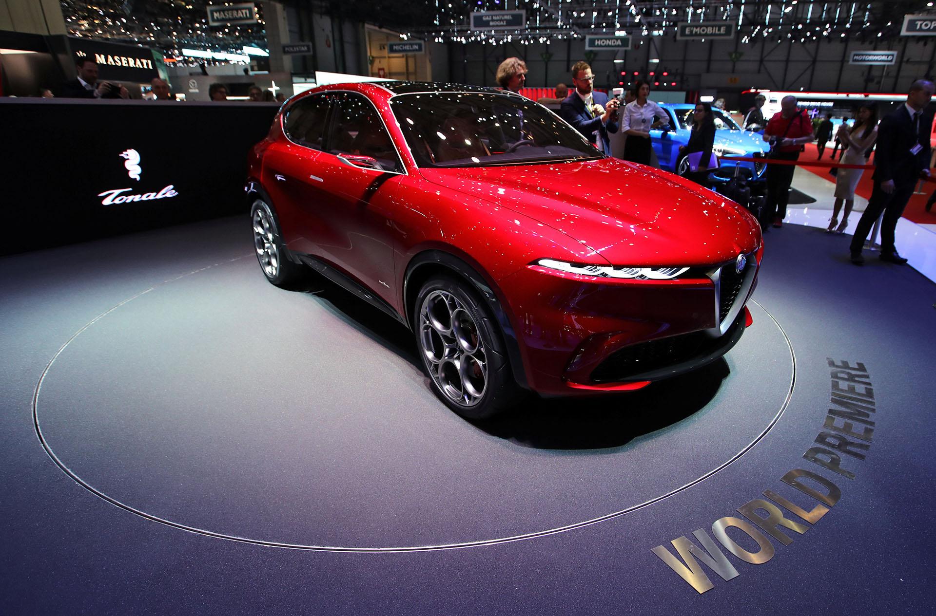 El nuevo Alfa Romeo Tonalees un SUV conceptual compacto elegante, estilizado y con aspecto futurista