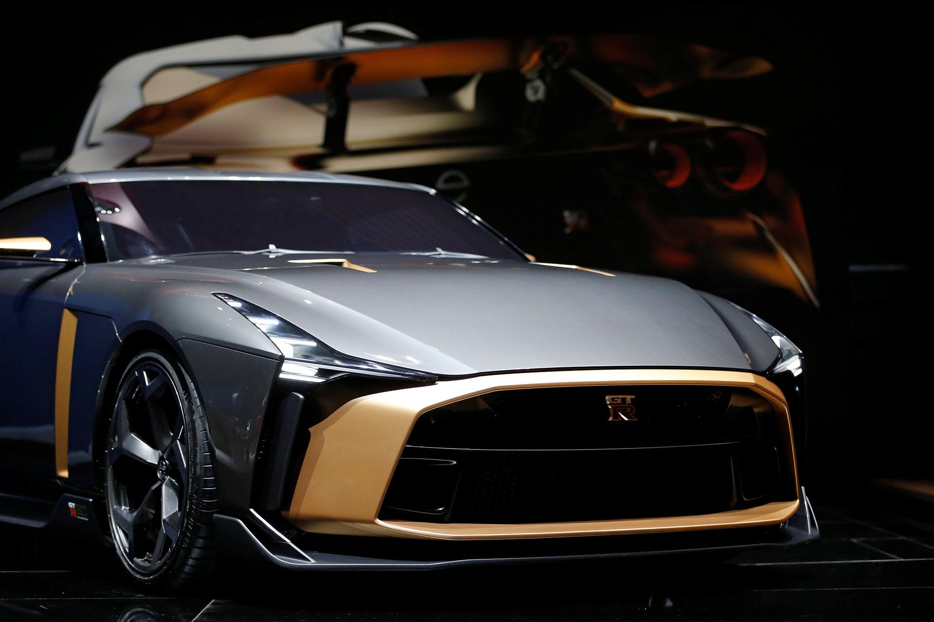 El Nissan GT-R50tiene una edición limitada, diseñado junto aItaldesign, celebra los 50 años de la línea deportiva de la marca japonesa
