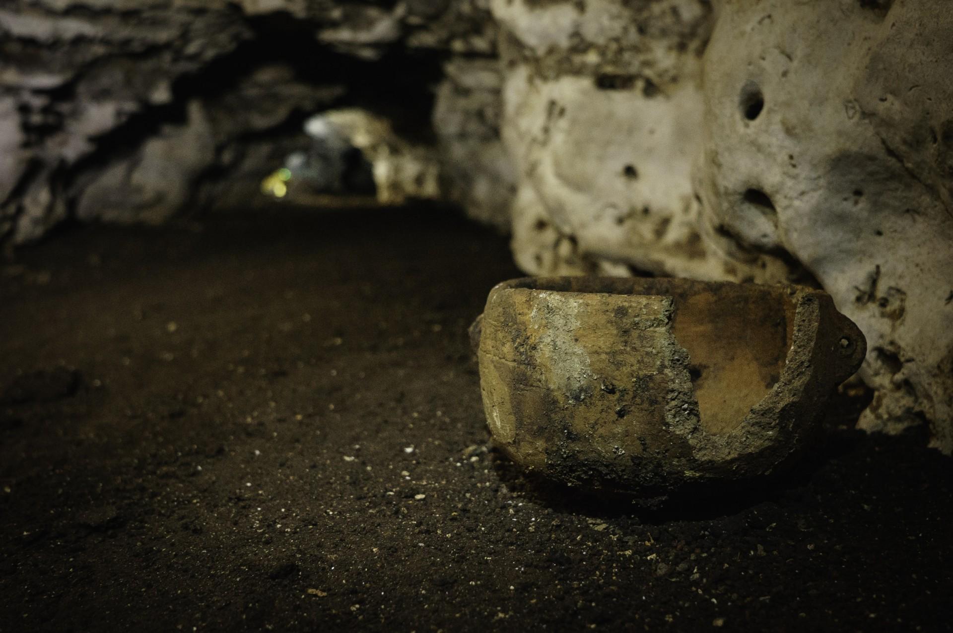 No fue nada fácil acceder a la cueva del dios jaguar (Foto: Karla Ortega)