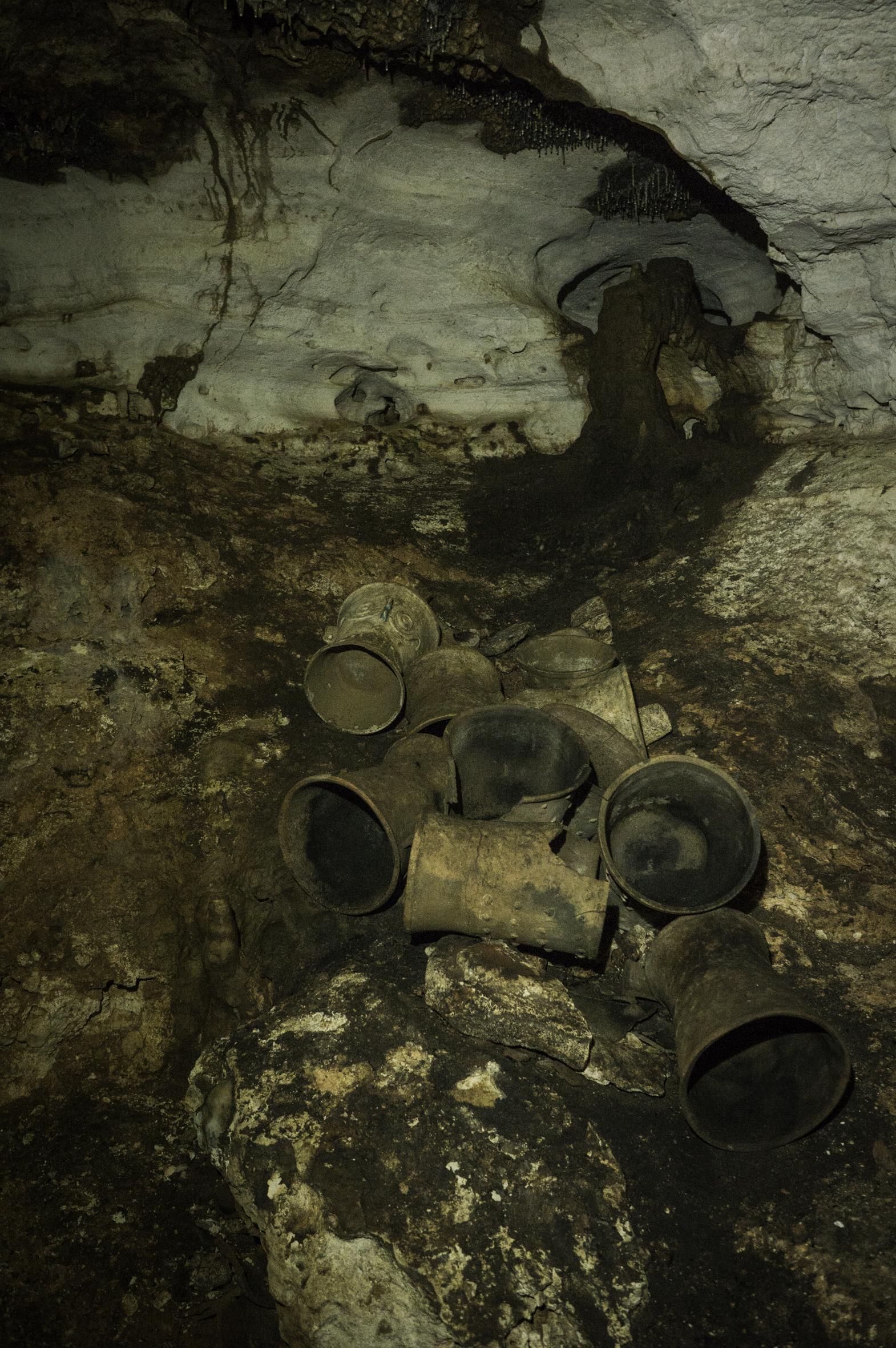 son más de 200 artefactos, entre los que se encuentran incensarios, jarrones, platos decorados (Foto: Karla Ortega)