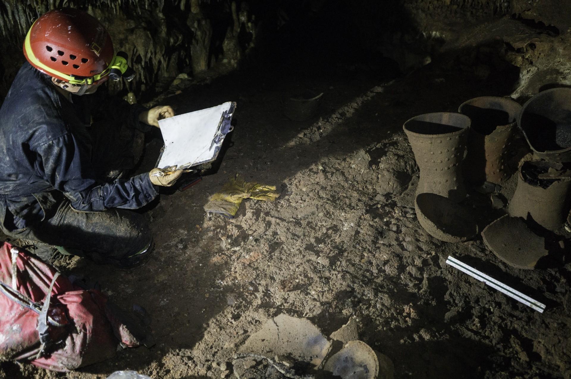 Esta cueva es un santuario subterráneo preservado casi intacto ante el paso del tiempo (Foto: Karla Ortega)