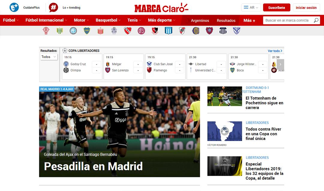 """Pesadilla en Madrid"", Marca"