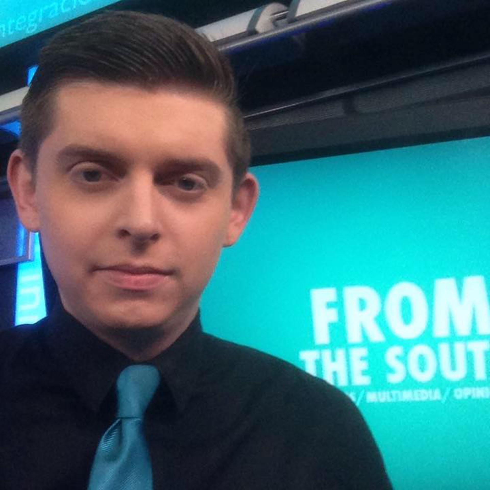 El periodista trabajaba como colaborador en Local 10 (Facebook: Cody Weddle)