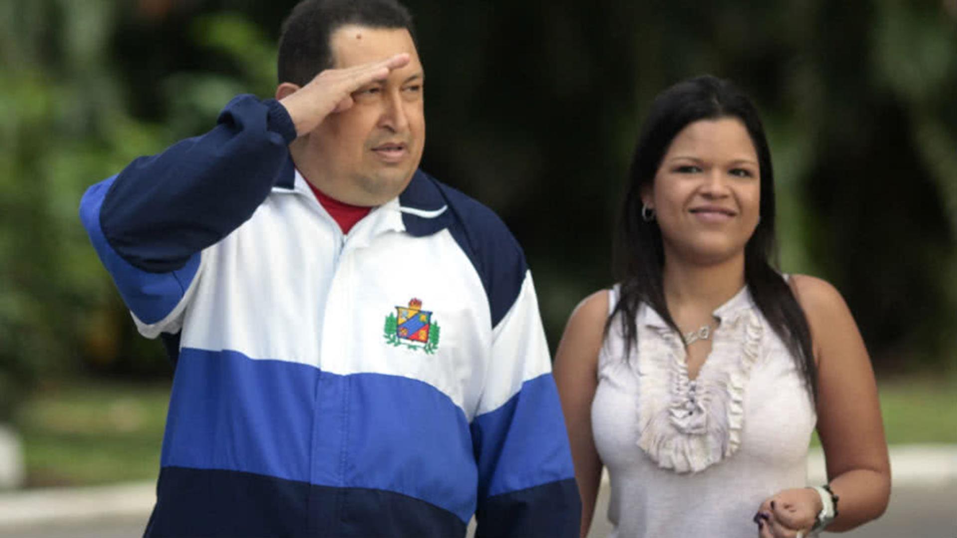 María Grabriela es la mayor de las hijas de Chávez