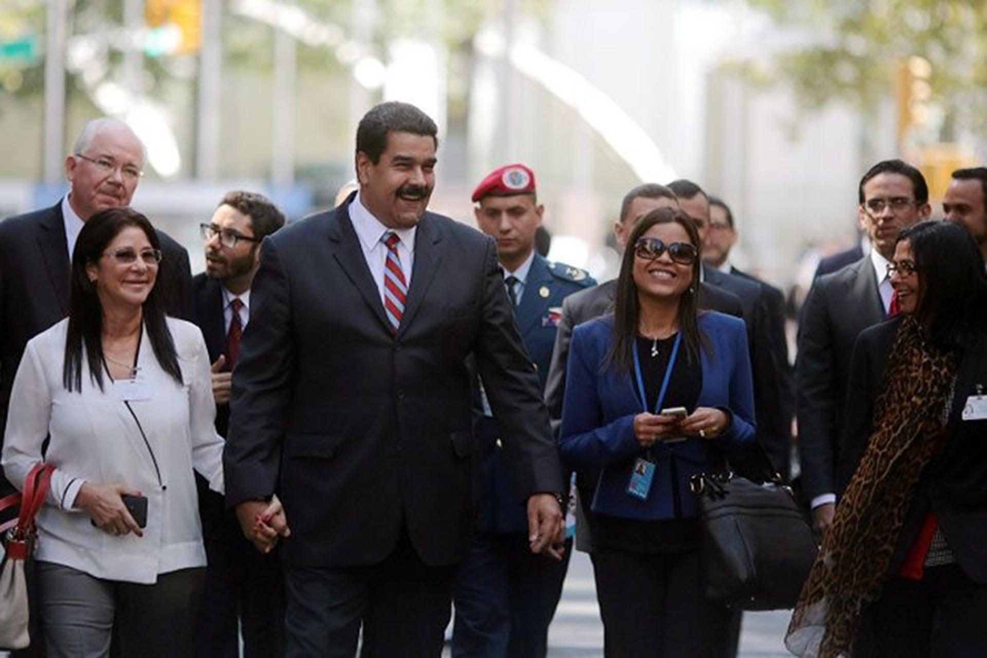 La hija de Chávez acompañó a Nicolás Maduro durante su última intervención ante la Asamblea General de la ONU