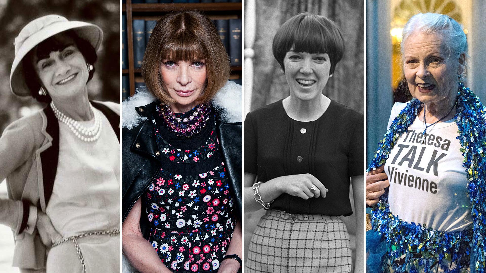 Coco Chanel, Anna Wintour, Mary Quant y Vivienne Westwood, cuatro mujeres que marcaron historia en la moda
