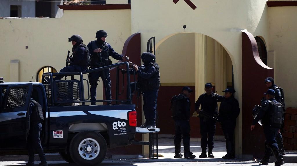 Según cifras, cada día es asesinado un policía en México (Foto: Cuartoscuro)