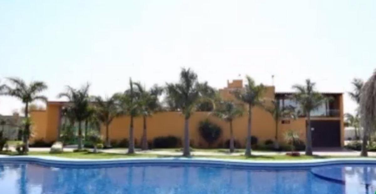 """La Fiscalía General de la República aseguró la supuesta casa de """"El Marro"""" (Foto: Captura de pantalla/ Grillonautas)"""