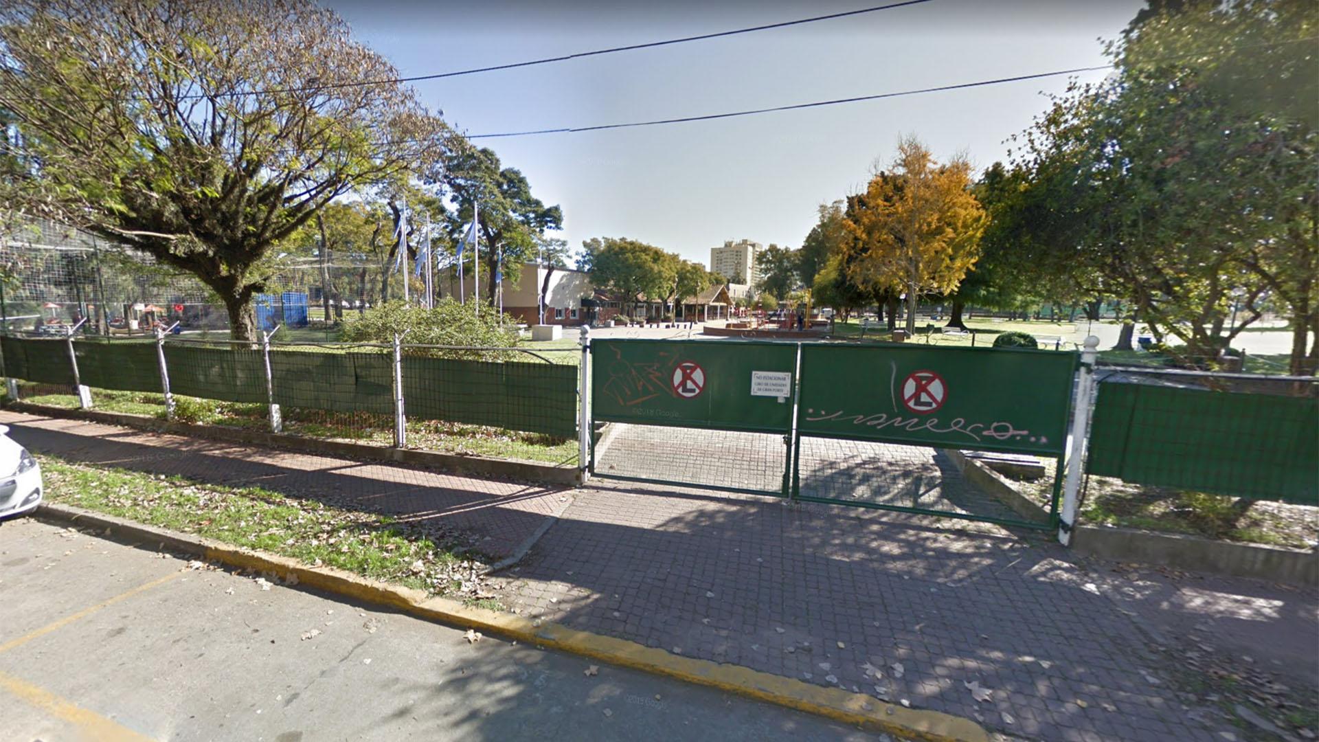 El Centro Naval de Olivos, que Doniacuo y la persona la que agredió frecuentaban.
